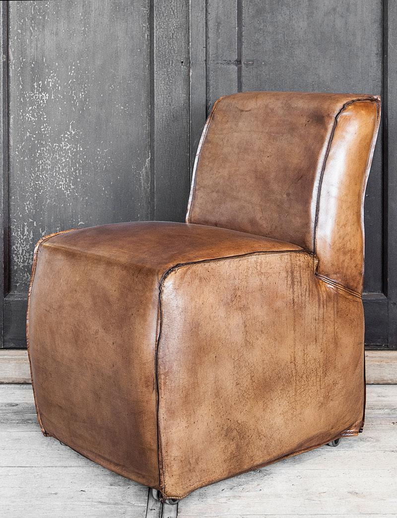 Comfortabele lederen stoel woontheater - Comfortabele stoel ...