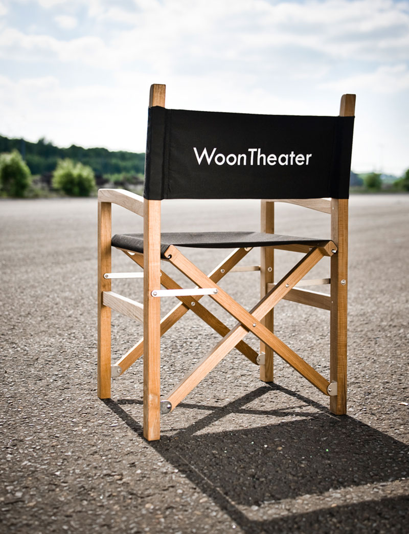 Personaliseerbare regisseursstoelen