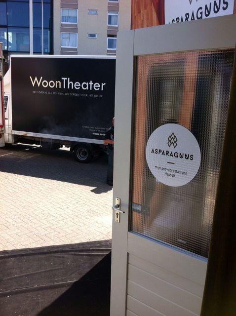 Asparaguus wint Mijn Pop-uprestaurant, gesteund door WoonTheater