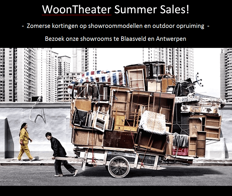 WoonTheater summer sales!