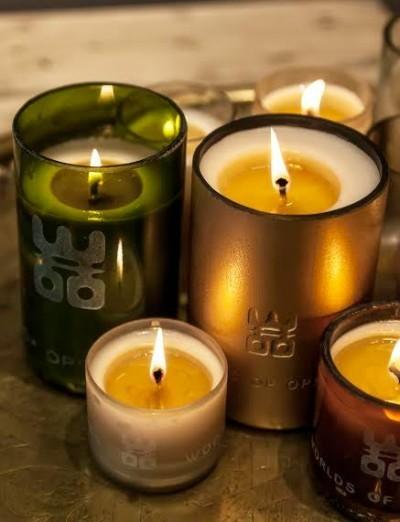 Woo candle