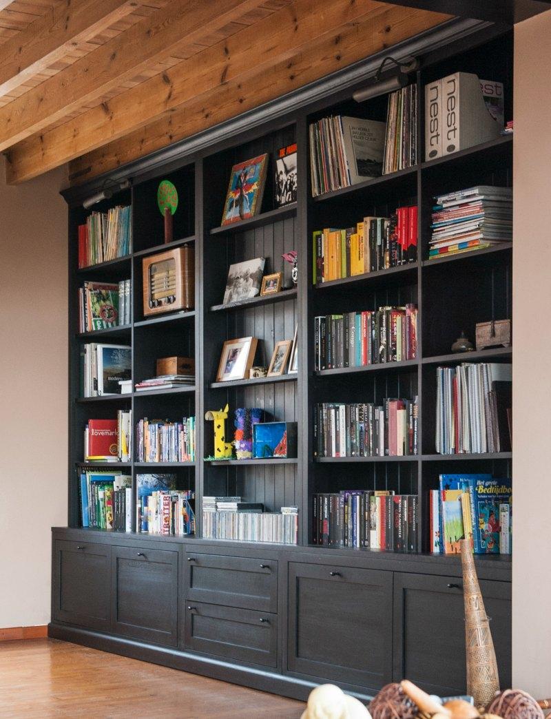 Custom Solid Wood Bookcase