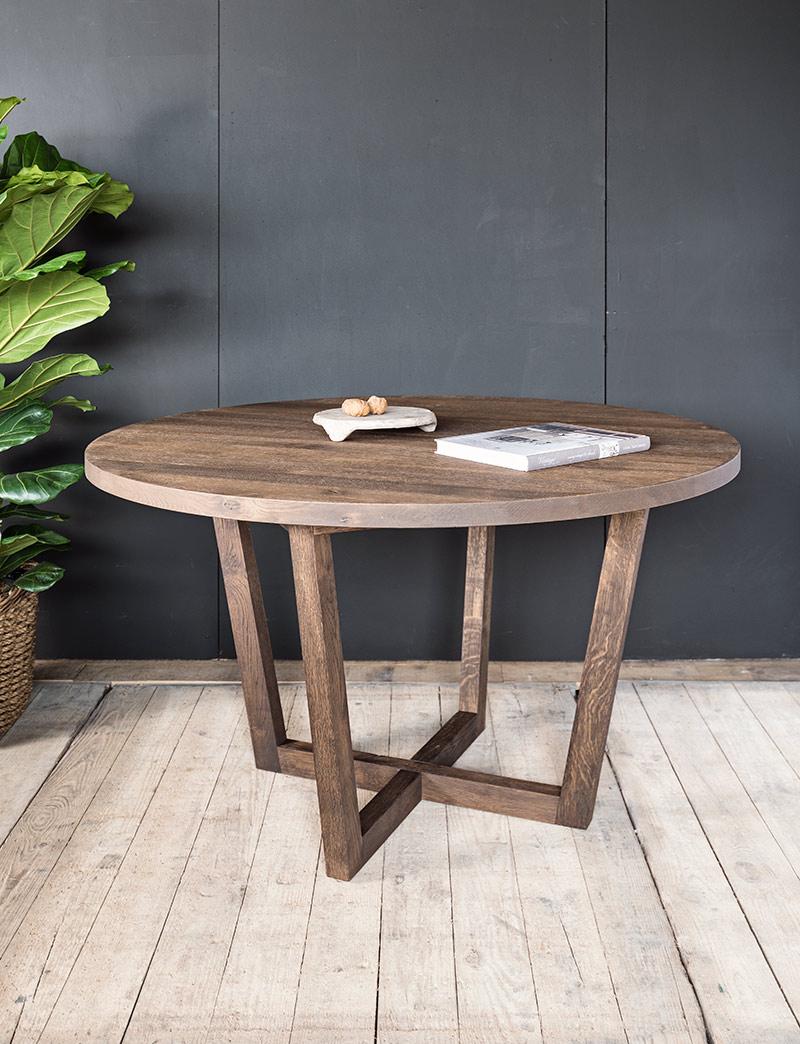 Ronde houten tafel op maat