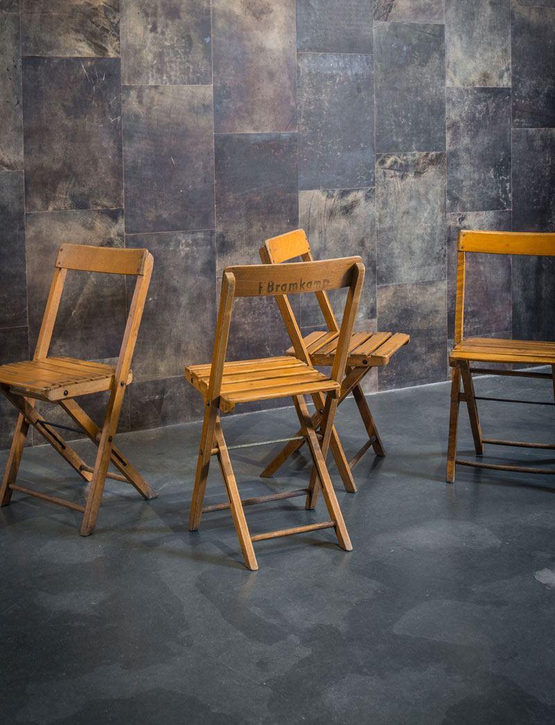 houten klapstoelen