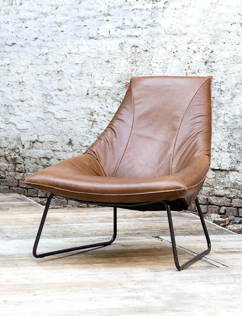 Leren lounge stoel rn 47 blessingbox for Bauhaus stoel leer