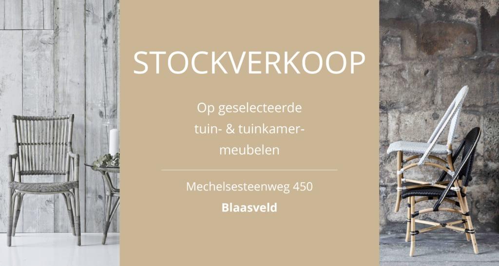 Stockverkoop!