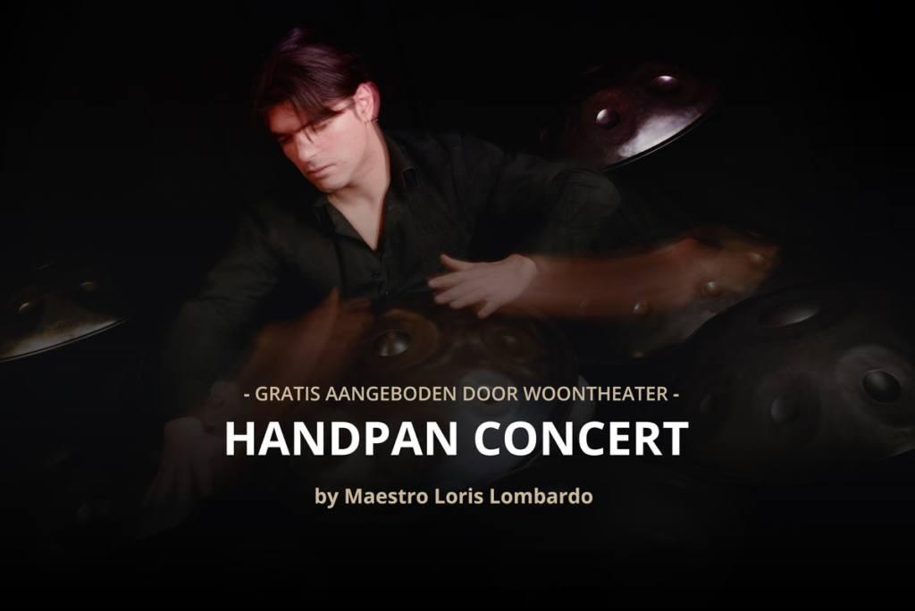 Zaterdag 18 augustus – HandPan Concert te WoonTheater Blaasveld!