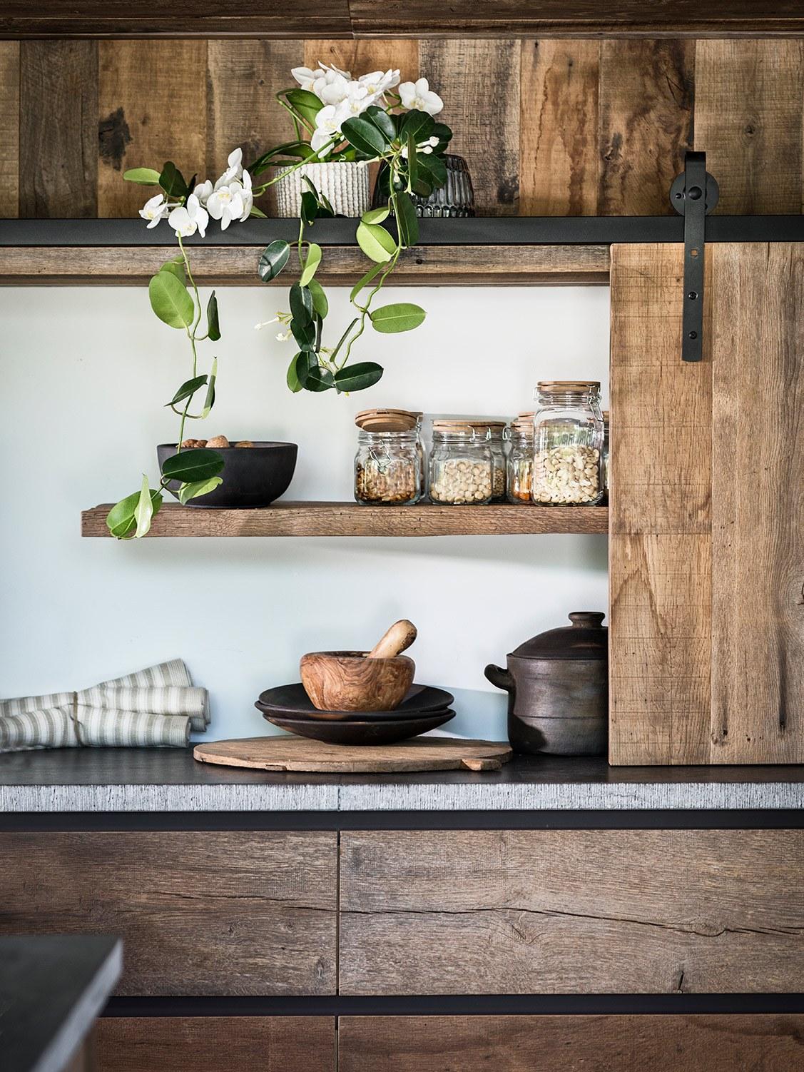 massieven keukens maatwerk in hout